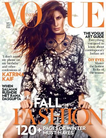 Vogue India September Cover